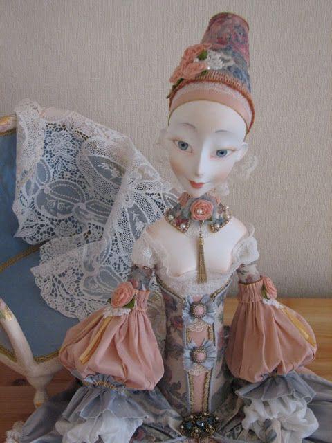 Кукольная мастерская ANNADAN: Новая кукла- Лорель