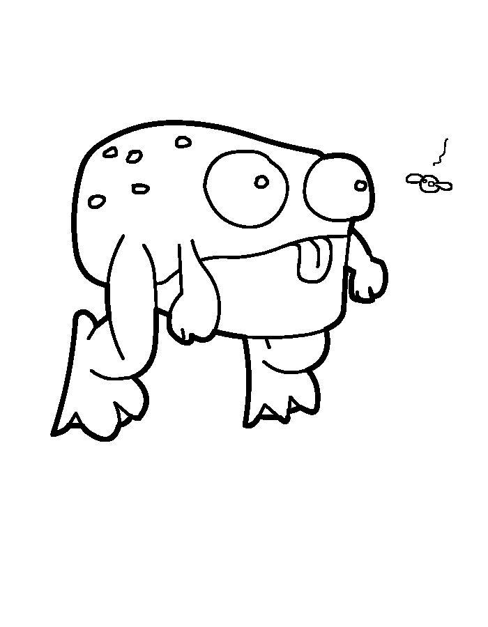 kikker kleurplaat frog kleurplaten school en tekenen