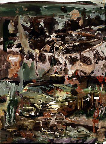 Untitled (#84), 2008. Oil on linen. 43.2 x 31.8 cm