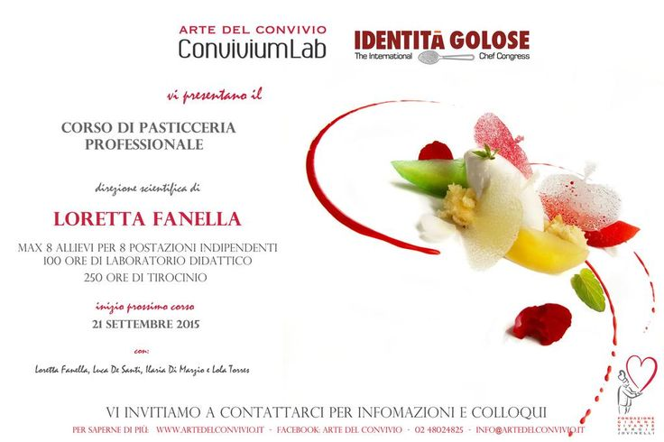 Corso di Pasticceria Professionale  @lorypastry @DesantiLuca @LolaTorresLo. @ConviviumLab per info, visite e colloqui