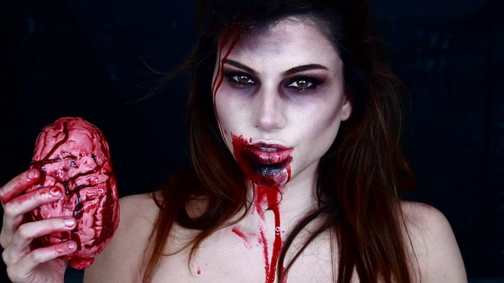 Zombie Makeup Kayleigh Noelle http://www.youtube.com/watch?v=LOa6clSTfdY