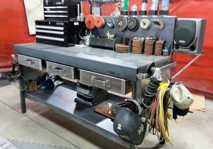 my new welding workbench                                                       …
