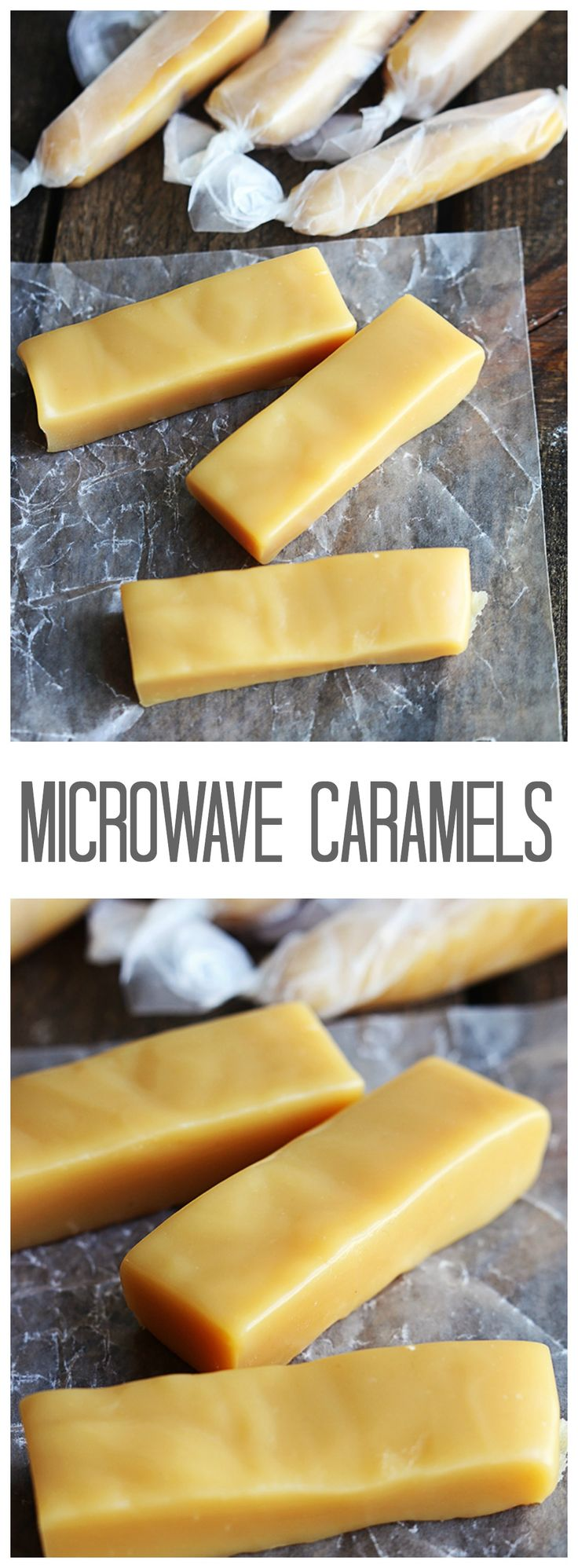 Microwave Caramels are the most chewy and delicious caramels and made right in your microwave! So easy!