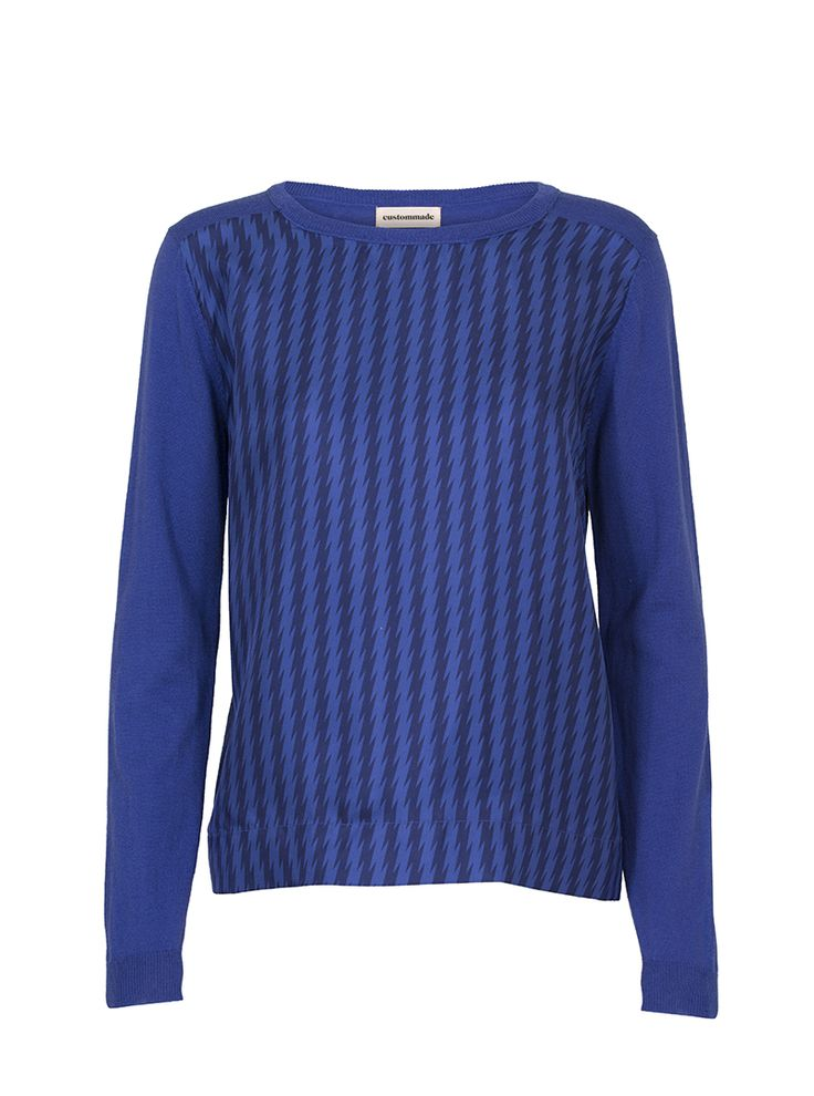 Gladis Crew Neck Sweater | Custommade.dk
