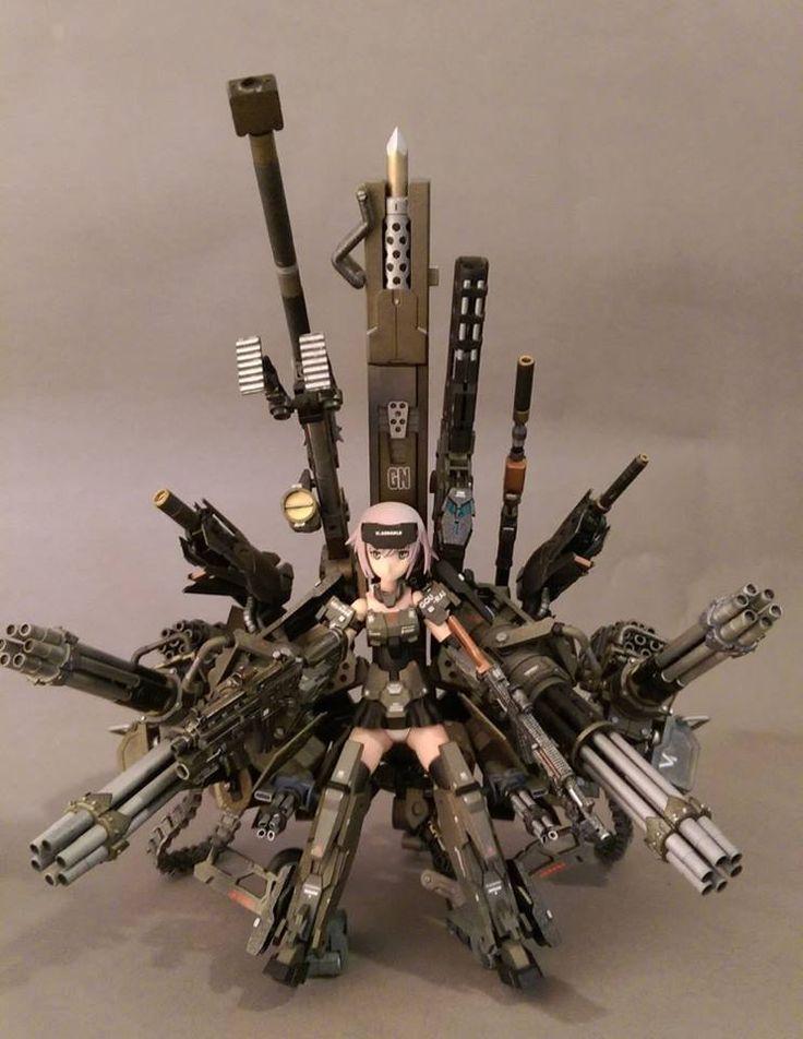 雁行 Frame Arms Girl-GOURAI kotobuiya http://lesupervises.blogspot.tw/