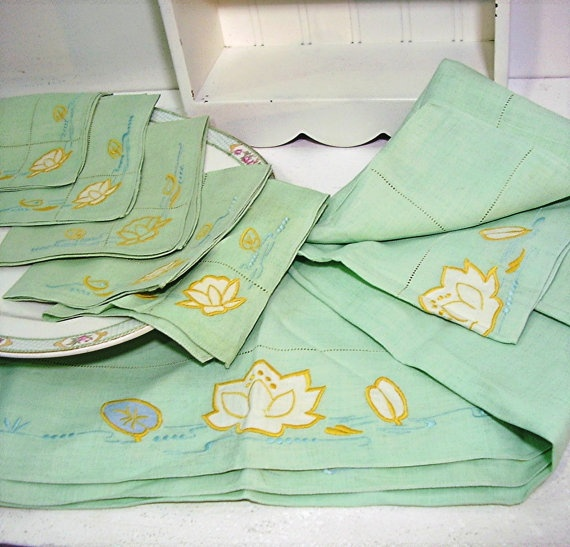 Retro Kitchen Linens: 75 Best Images About Vintage Kitchen Linens On Pinterest