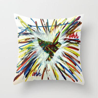 ThePeaceBombs - JJT Throw Pillow by ThePeaceBombs - $20.00 #pillows #art #artwork #shopping #home #decor  http://society6.com/ThePeaceBombs www.miaaw.com https://www.facebook.com/marishags