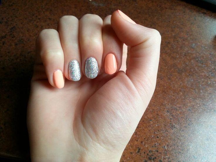 Summer nails, sparkling nails, 2016