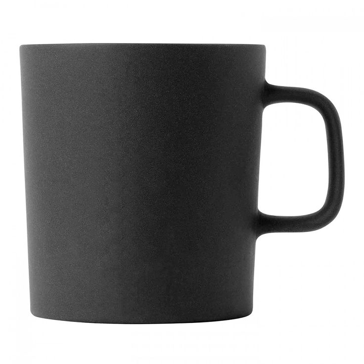 Royal Doulton - Barber & Osgerby Olio Black Mug | Peter's of Kensington