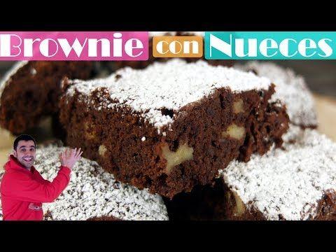 Brownie con nueces, jugoso delicioso y fácil. - YouTube