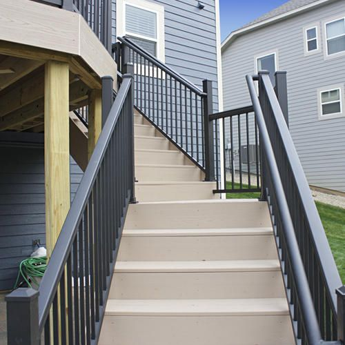 Best Williams Preassembled Powder Coated Aluminum Stair Panel 400 x 300