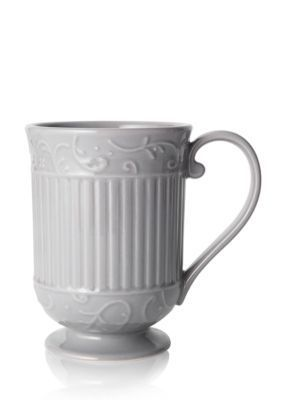 Mikasa  Italian Countryside Scroll Mug - Gray - One Size