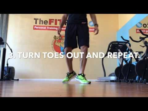 The FIT Potato Danville, Pleasanton, San Ramon Running Coach Presents Shin Splint Exercises - YouTube
