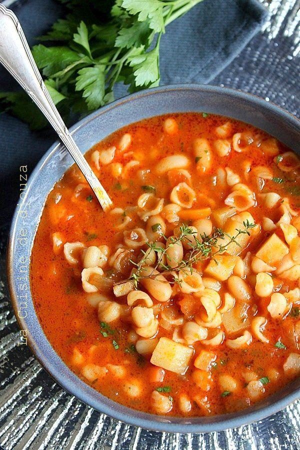 Minestrone soupe de pates facile | Recette | Idée repas facile, Idée repas pates et Idée recette ...