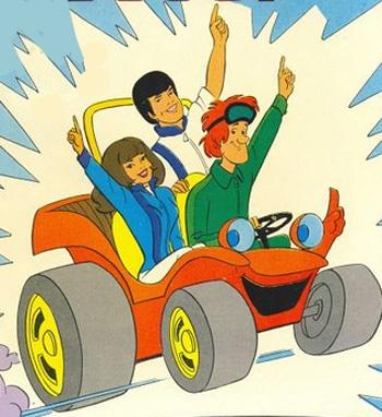 *  Speed Buggy Cartoon *