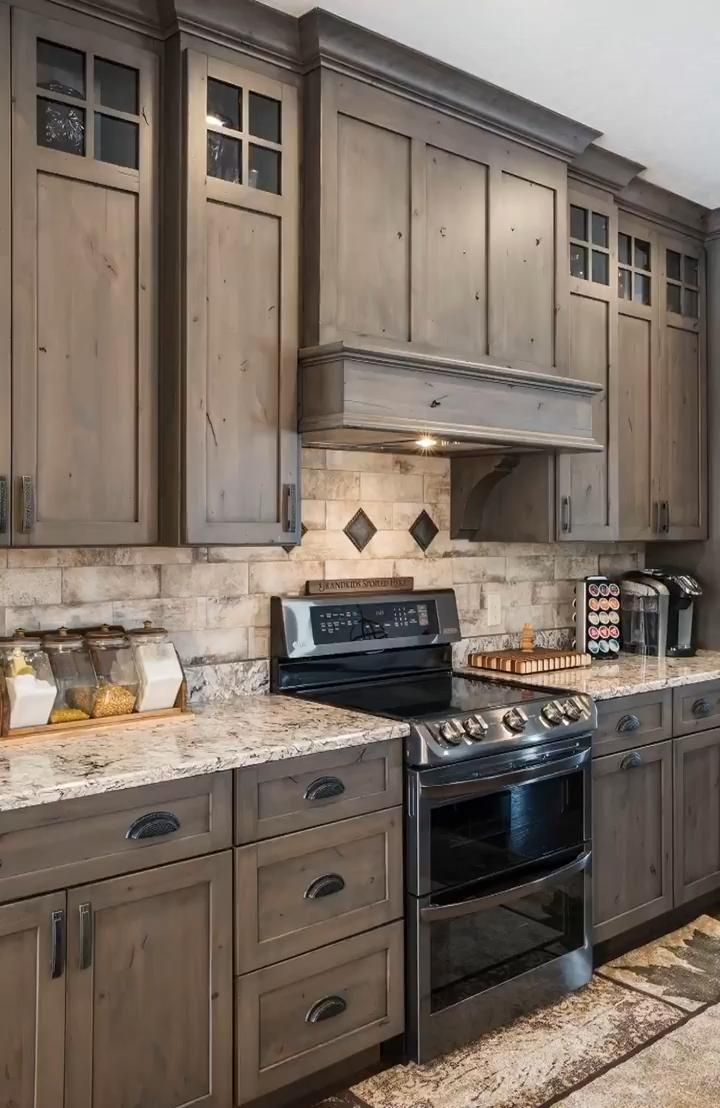 Custom Cabinets By Amish Showroom Video In 2020 Rustic Kitchen Diy Kitchen Renovation Rustic Kitchen Cabinets