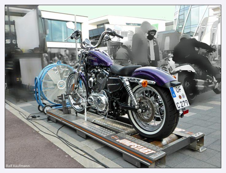 Flugfeld Böblingen - Harley Davidson