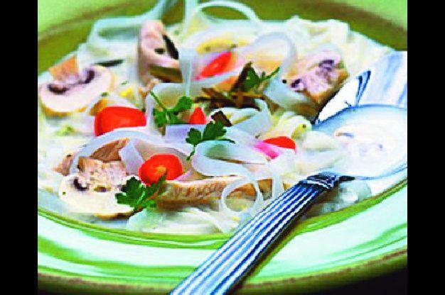 Thajská polévka