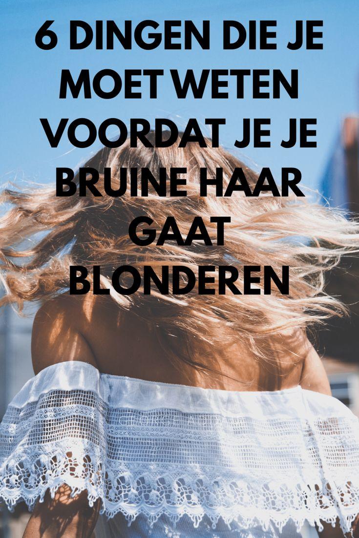 Overweeg je je haar blond te verven? Lees dit dan eerst!  6 gouden tips die iedereen moet weten als je van bruin haar naar blond haar wil.