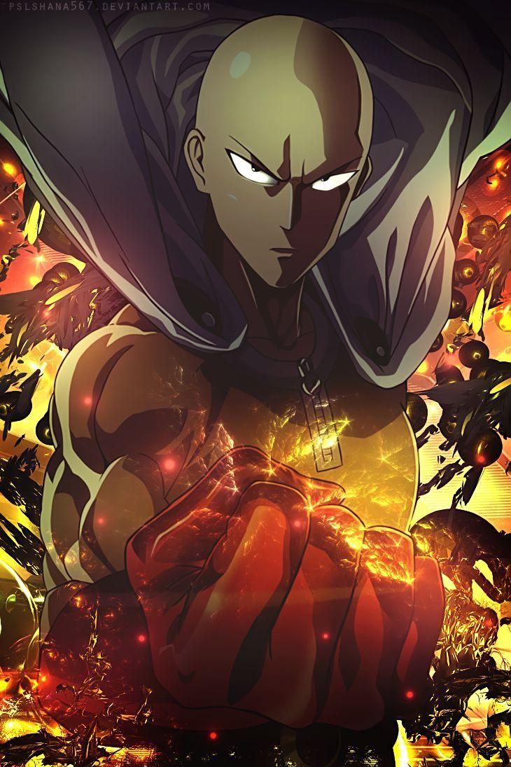 One Punch Man Wallpaper Seni Anime Animasi Seni