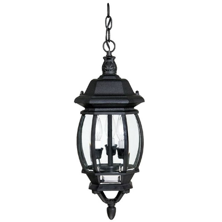South Shore Decorating: Capital Lighting 9864BK French Country Traditional Outdoor Hanging Light CP-9864BK