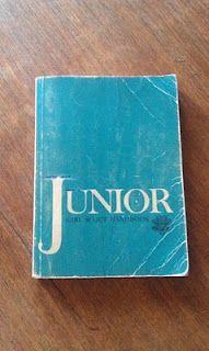 Junior Girl Scout Handbook...mine looks just like this.