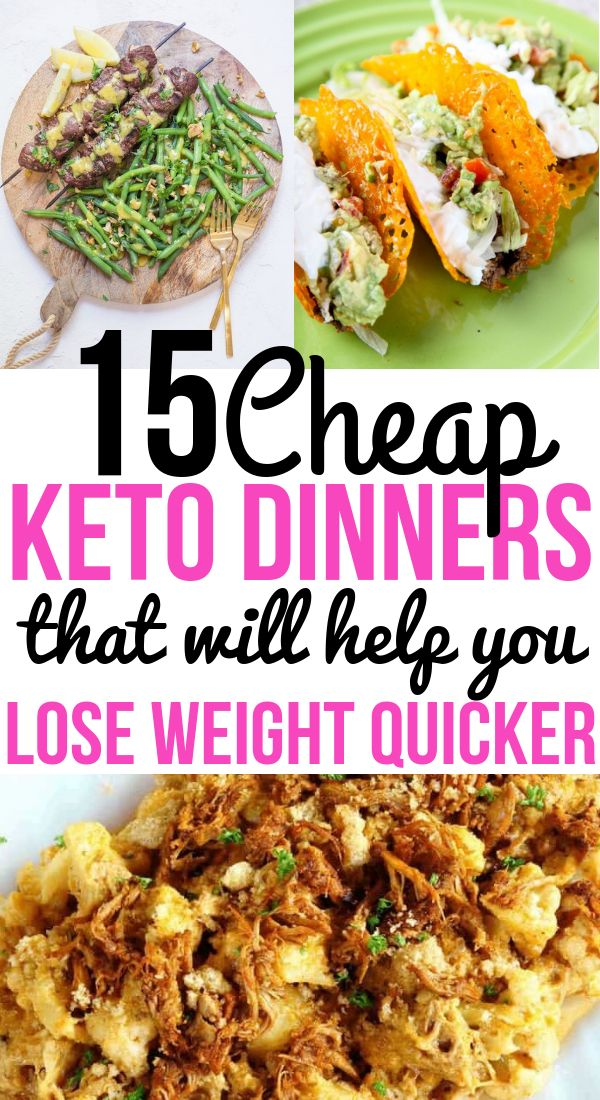 Cheap Keto Meals For People Doing The Ketogenic Diet On A Budget Easy Dinner Recipes Keto