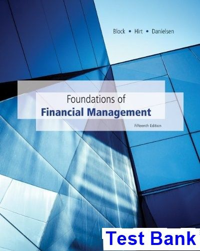 50 best test bank images on pinterest foundations of financial management 15th edition block test bank test bank solutions manual fandeluxe Images