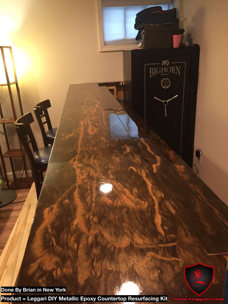 Wood Bartop Coated With Our Kits Get Yours Today At
