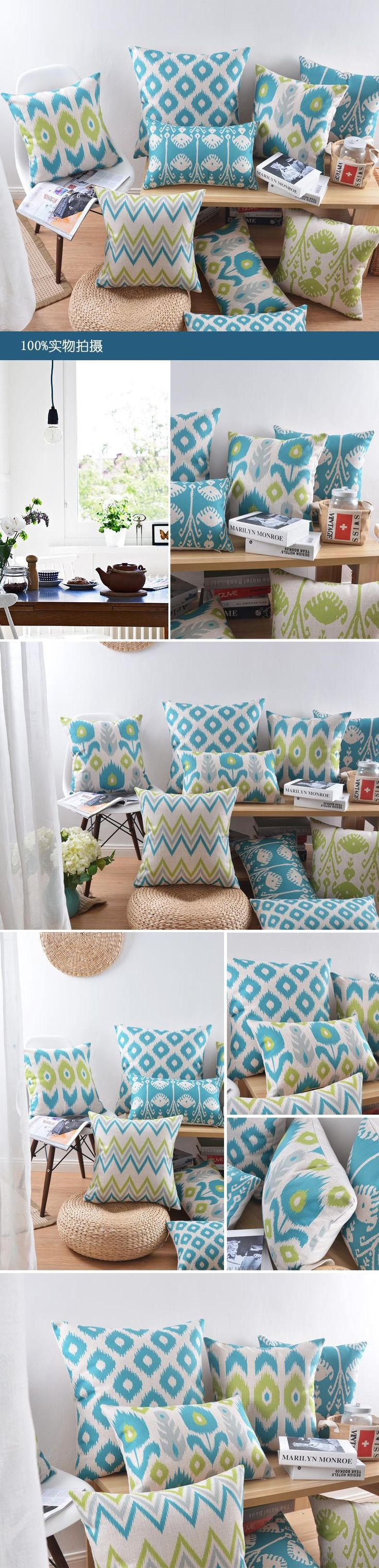 Best 25 Geometric cushions ideas on Pinterest