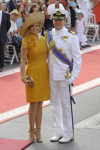 Princess Maxima Photo - Guests arrive for Monaco royal wedding