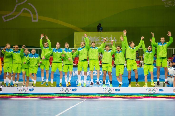Mladi rokometaši so postali olimpijski prvaki. Po težki tekmi so premagali Egipčane in osvojili 1. mesto na mladinskih olimpijskih igrah Nandžing 2014.