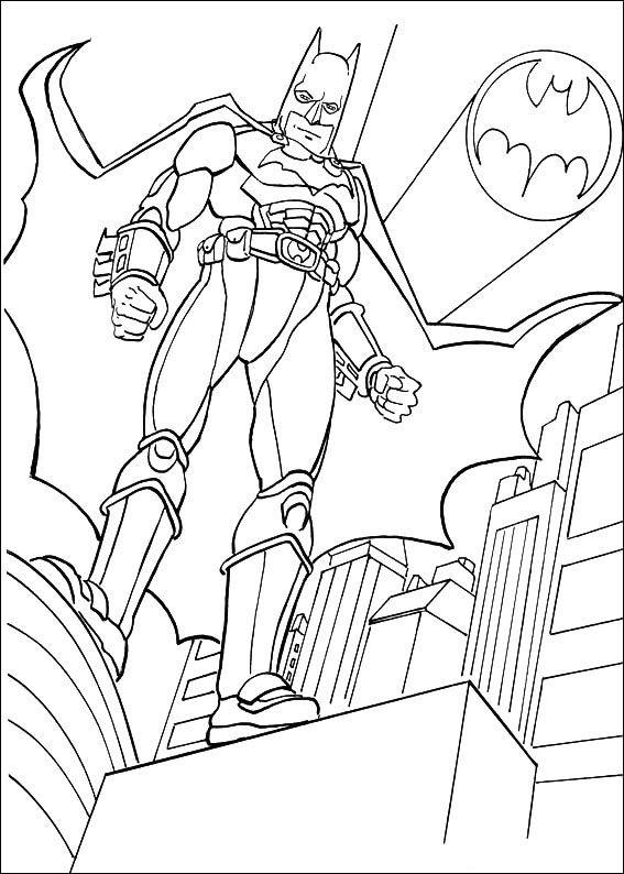 Ms de 25 ideas increbles sobre Batman para colorear en Pinterest