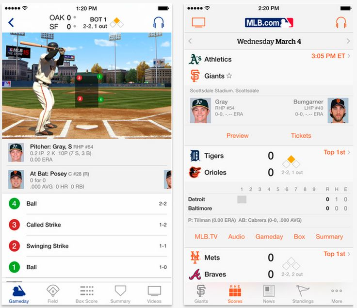 MLB At Bat app redesigned, updated with new features for Spring Training