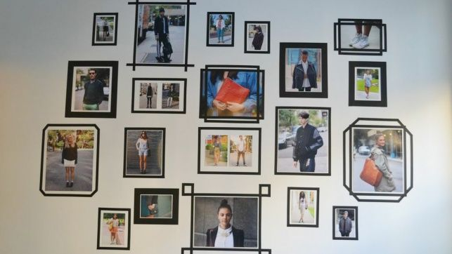 wall washi tape frame                                                       …