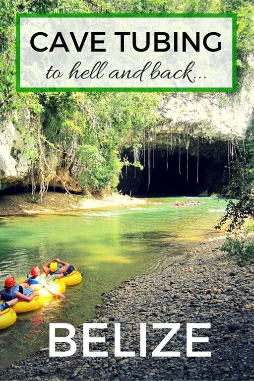 Read all about one of the country's most popular activity - Cave tubing in Belize. See what floating on inflatables into a cave system looks. It can be done with kids too. Belize with kids | Cruise ship excursion