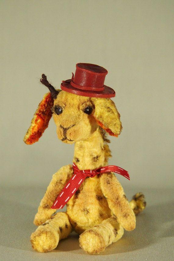 Авторская мягкая игрушка жираф Степа Author's by MASTERCKAYKIT
