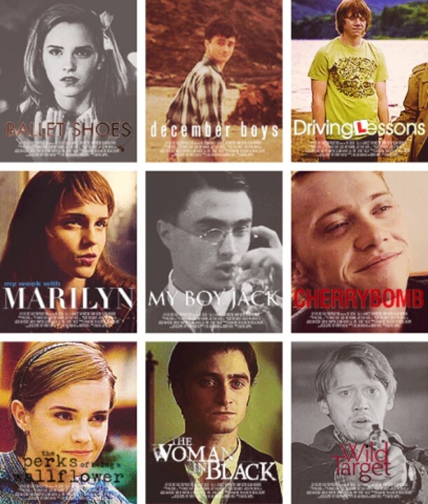 harry potter cast in other movies i saw ballet shoes