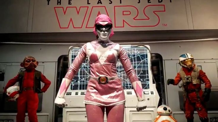 That's it, from now on we're just going to assume that every anonymous cosplayer at Comic-Con is really a celebrity, because it turns out Adam Savage wasn't the only one who went incognito in San Diego. Star Wars' Lupita Nyong'o was also there, anonymously dancing her away across the expo floor as the Power Rangers' Pink Ranger. Nyong'o shared a video on Twitter of her busting a move at last week's SDCC, where she was dressed as the Pink Ranger, but with a whit...