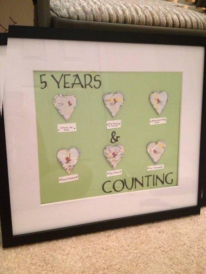 Wedding Anniversary Gifts 5 Years