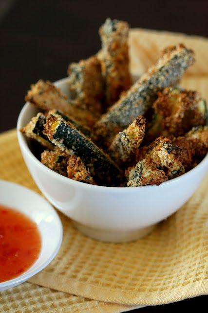Baked zuchini fries