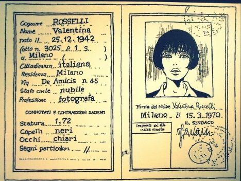 Guido Crepax in arte...Valentina