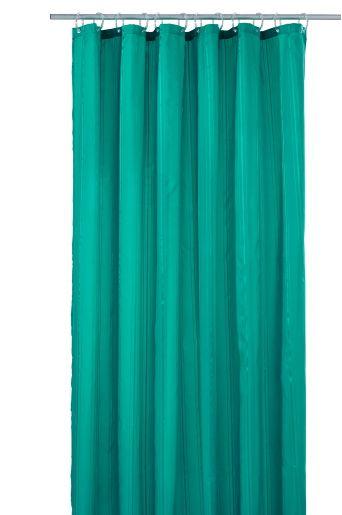 Ellos Home Smaragdinvihreä Stripe-suihkuverho 9,95 €