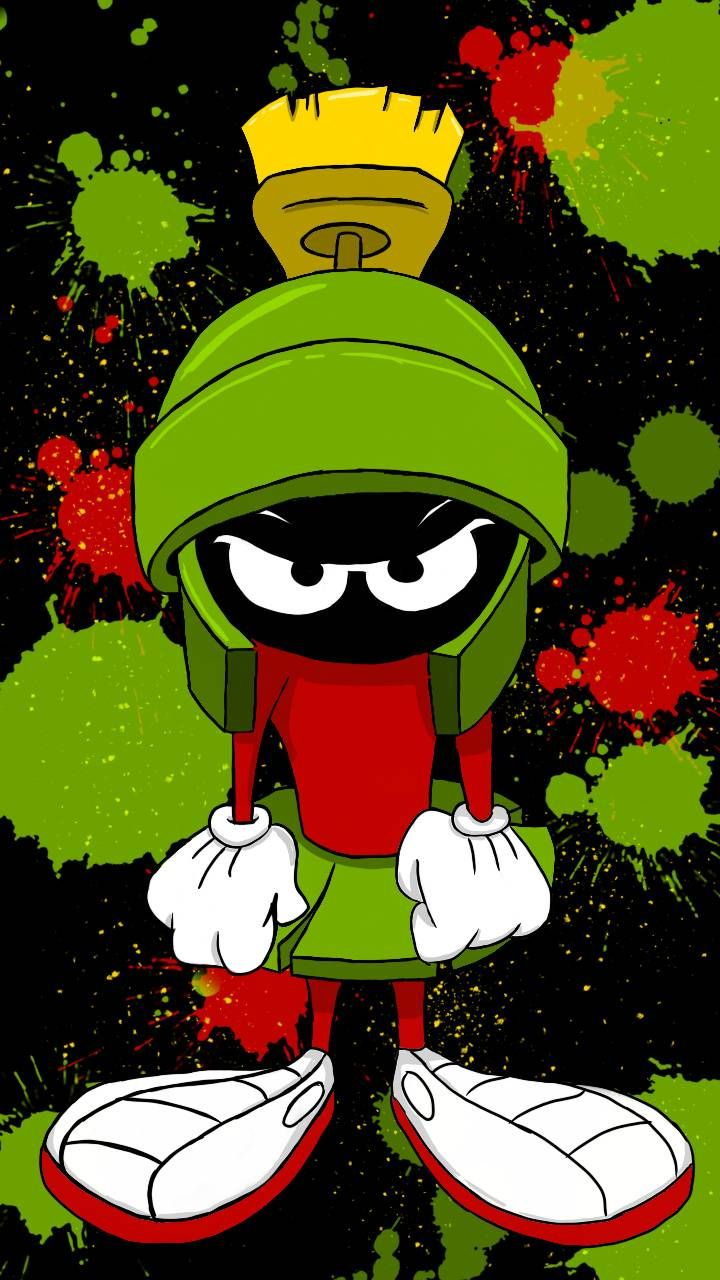 Download Marvin The Martian Wallpaper By Greenjewel 15 92 Free On Zedge Now Browse M Looney Tunes Wallpaper Classic Cartoon Characters Marvin The Martian