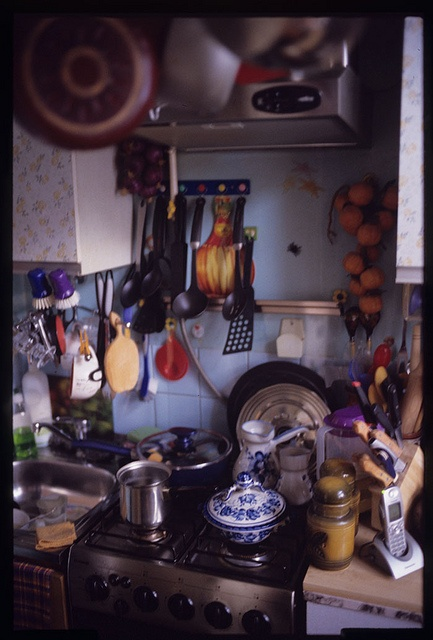 One of a kind of traditional russian kitchen by ntitov, via Flickr