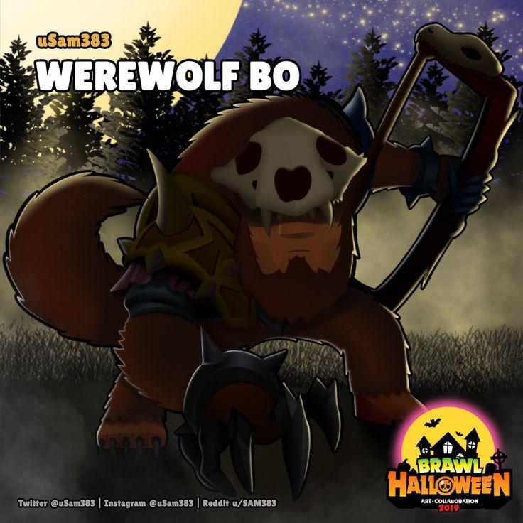 Werewolf Bo in 2020 Brawl, Werewolf, Star art