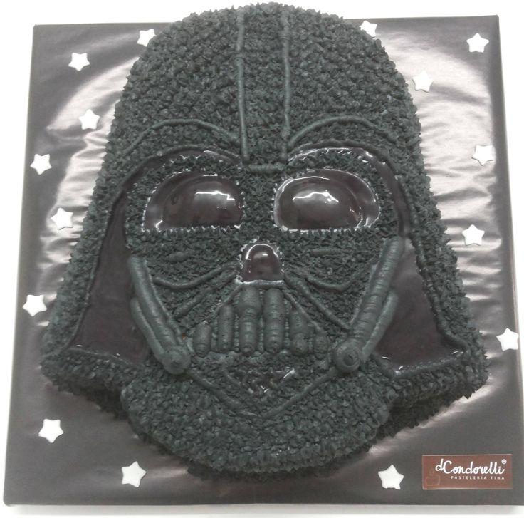"""Torta """"Darth Vader"""" de Pastelería dCondorelli - www.dcondorelli.cl - Santiago, Chile"""