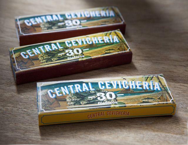 Central. empaque caja de fósforos. 2013