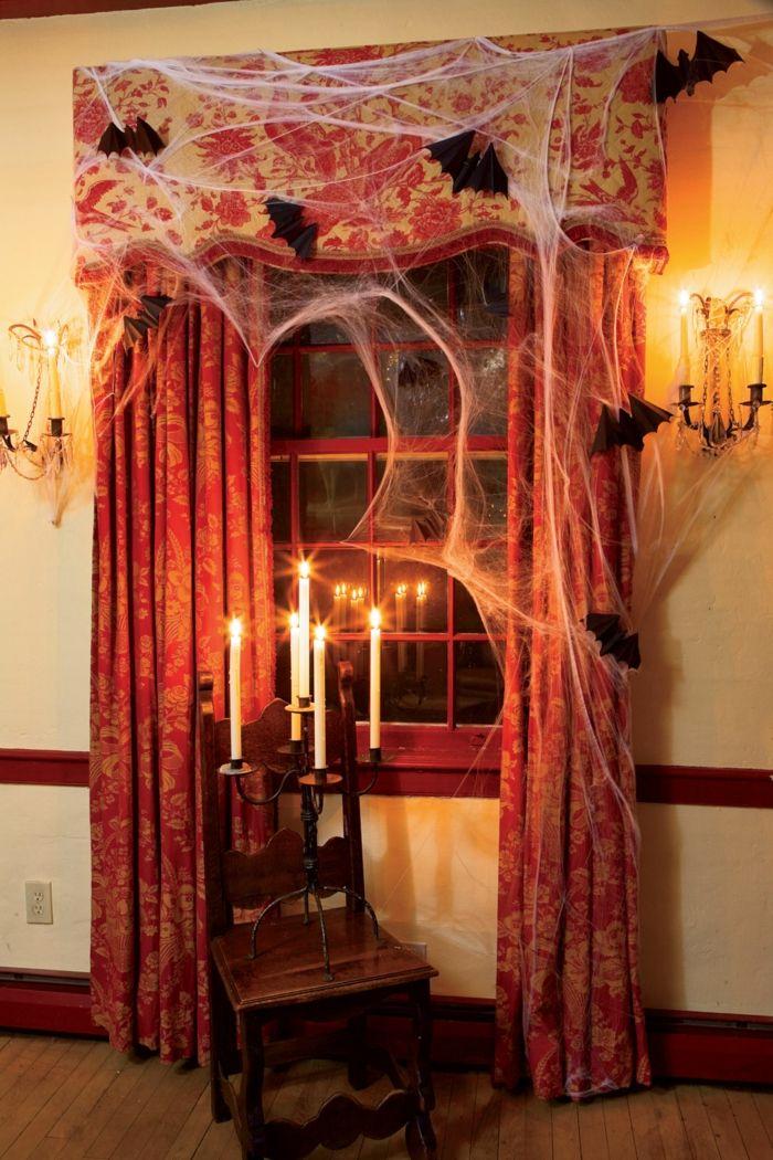 Die besten 25+ Halloween fenster Ideen auf Pinterest Halloween - halloween deko wohnzimmer