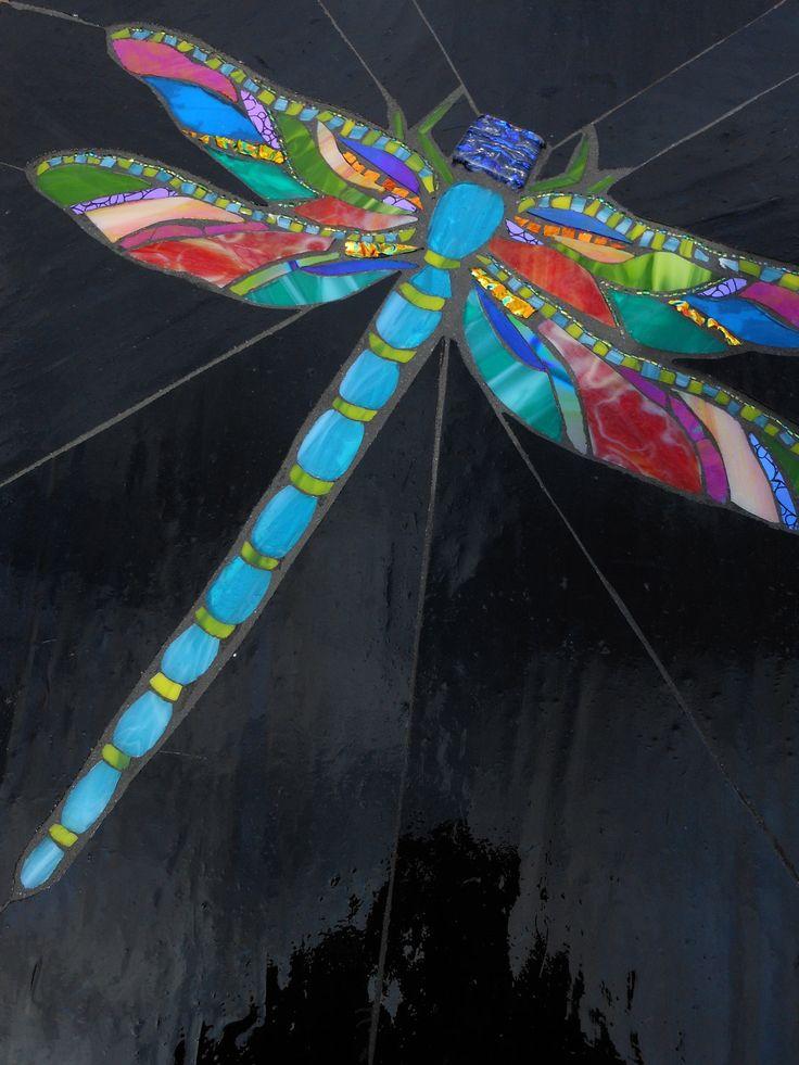 Dragonfly mosaic.